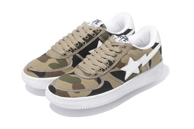Image of A Bathing Ape 1ST CAMO CANVAS BAPE STA