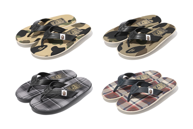 Image of A Bathing Ape x Island Slipper 2012 Summer Collection