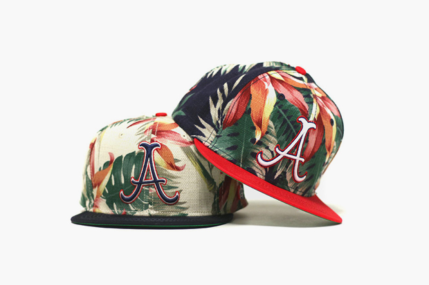 Image of Acapulco Gold Hawaiian 6-Panel Snapback Caps