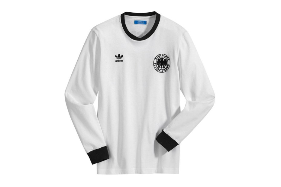 Image of adidas Originals 2012 Retro Football Shirts