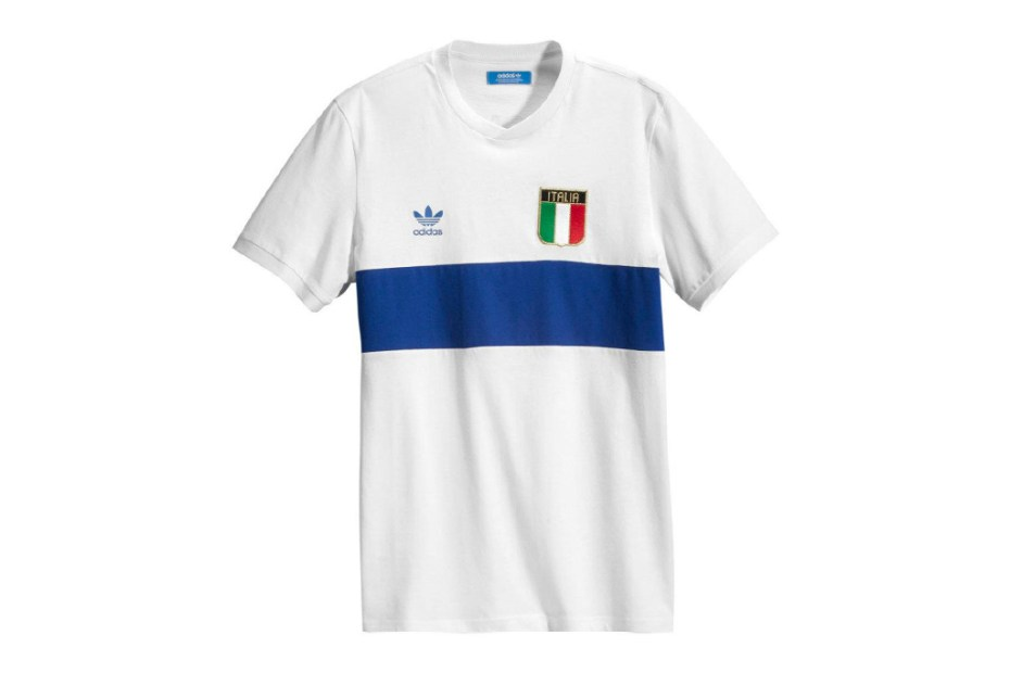 Image of adidas Originals 2012 Retro Football Shirts