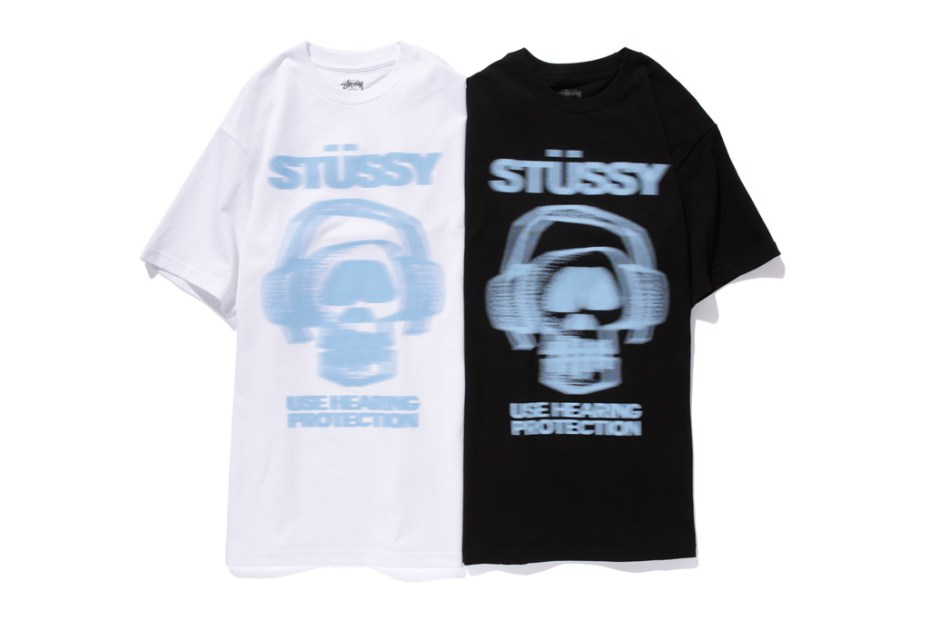 "Image of Stussy 2012 Spring/Sumer ""Use Hearing Protection"" T-Shirt"
