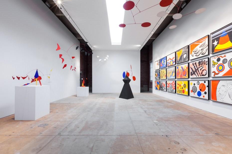 Image of Alexander Calder Exhibition @ L&M Gallery Los Angeles