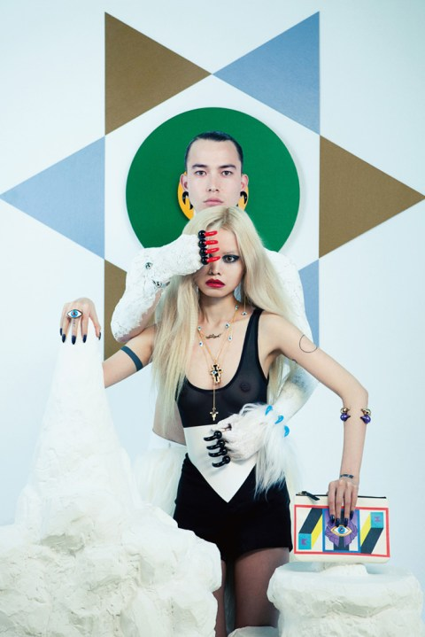 "Image of AMBUSH 2012 ""HOLY MOUNTAIN"" Collection"