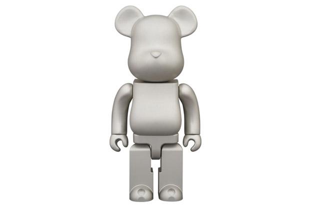 Image of AMIREX x Medicom Toy 400% Aluminum Bearbrick