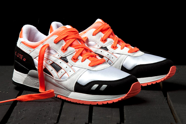 "Image of ASICS Gel Lyte III ""Orange Blaze"""