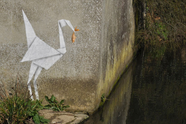 Image of Banksy Unveils New Outdoor Works