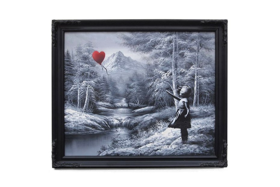 Image of Banksy Unveils New Paintings