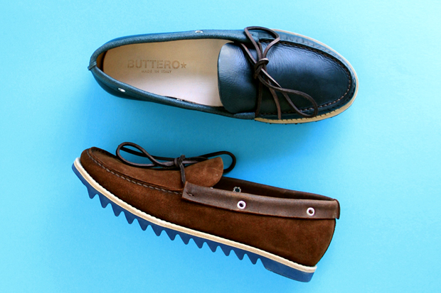 Image of Buttero 2012 Spring/Summer Colored Ripple Sole Boat Shoes