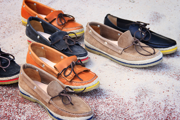 Image of Buttero 2012 Spring/Summer Color Welt Boat Shoes