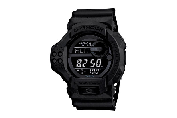 "Image of Casio G-Shock GDF-100BB-1JF ""Solid Black"""