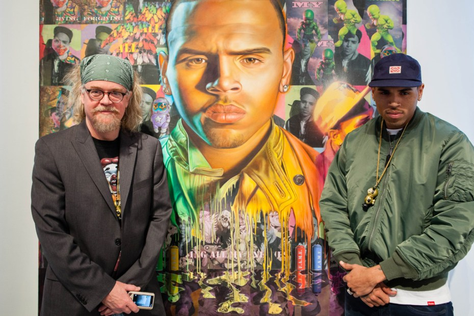 Image of Chris Brown x Ron English DUM ENGLISH Launch Recap @ Cory Helford Gallery