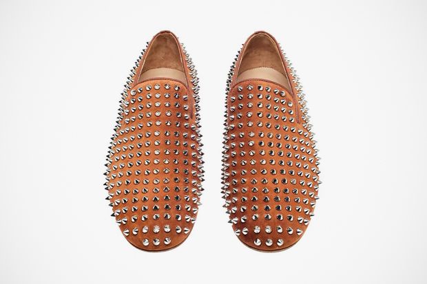 """Image of Christian Louboutin 2012 Spring/Summer """"Suede"""" Rollerboy Spikes"""