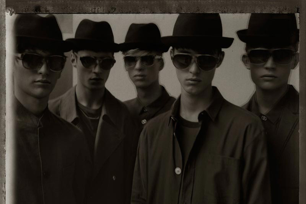 Image of commons&sense man Magazine: Kris Van Assche Editorial