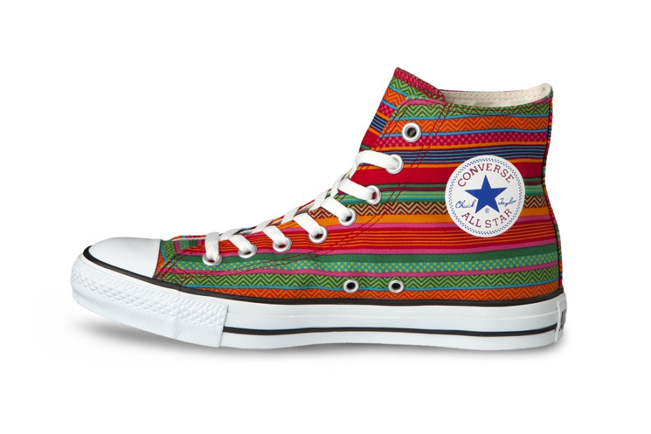 "Image of Converse Japan Chuck Taylor All-Star Hi ""Huipil"""