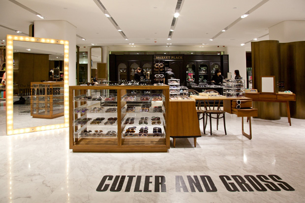 Image of Cutler &amp; Gross Pop-Up Store @ Lane Crawford Canton Road