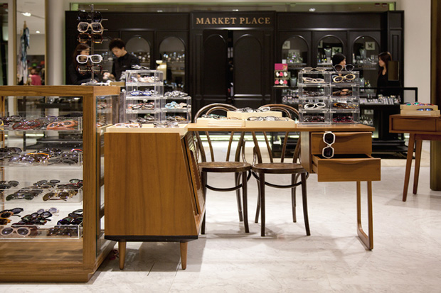 Image of Cutler & Gross Pop-Up Store @ Lane Crawford Canton Road