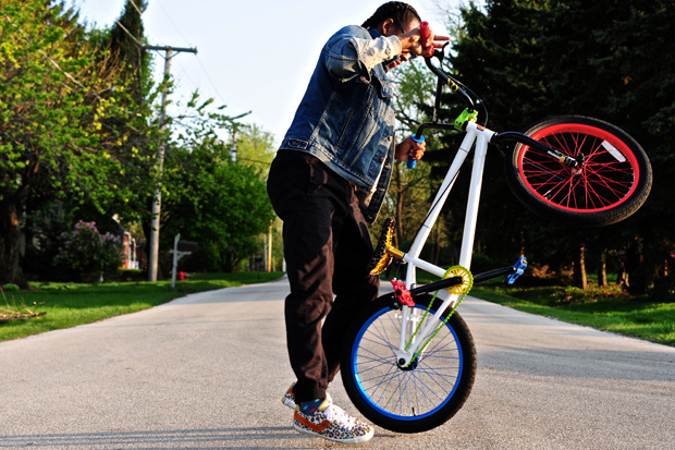 Image of Dee & Ricky x MIRRACO 2012 BMX Bike