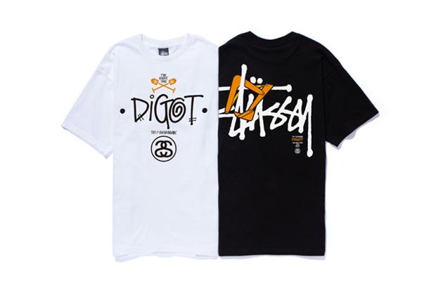 Image of DIGOT x Stussy 1st Anniversary T-Shirt