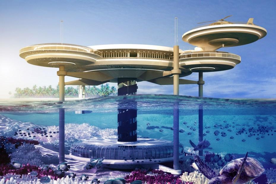 Image of Dubai Water Discus Underwater Hotel