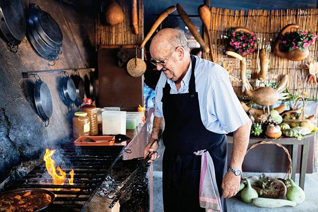 Image of Edible Selby: Emilio Fernandez of Sa Foradada