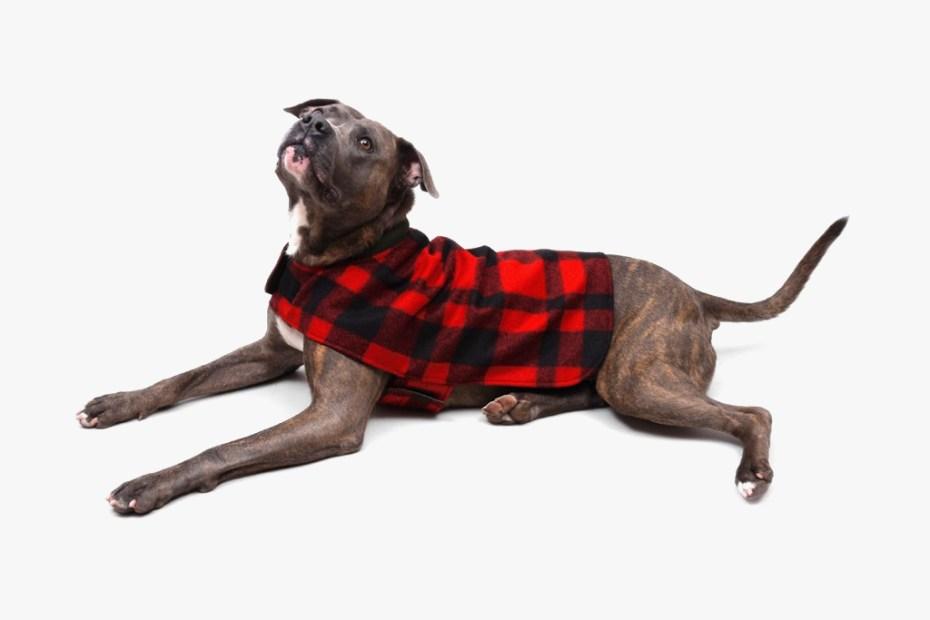 Image of Filson 2012 Reversible Red Plaid Dog Coat
