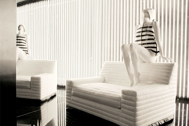 "Image of Gilles & Boissier ""Sit on My Doudoune"" Sofa for Moncler"