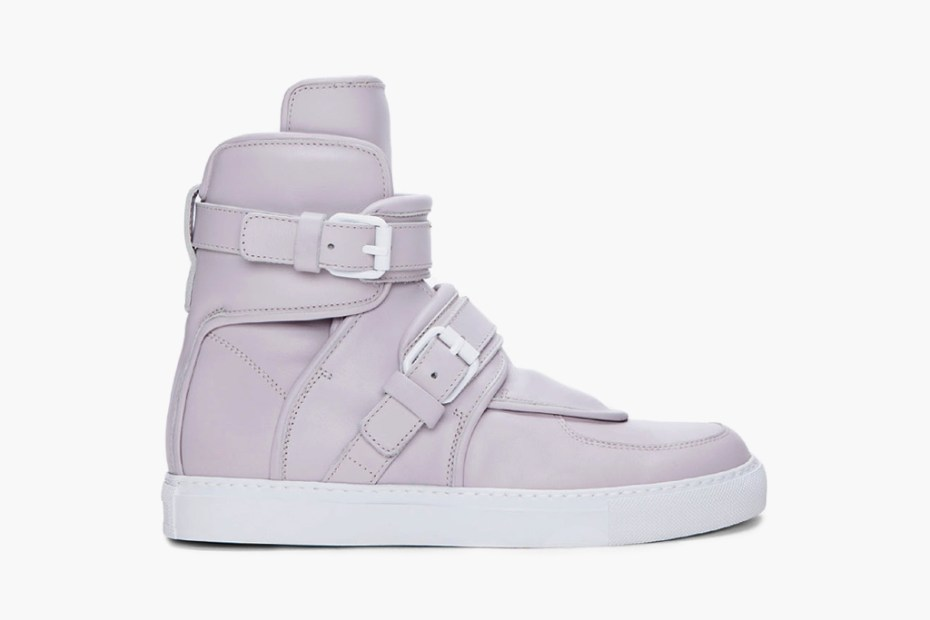 Image of Givenchy Arctic Gray Padded Sneakers