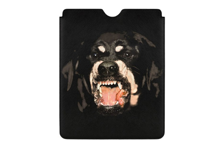 Image of Givenchy Rottweiler iPad Case