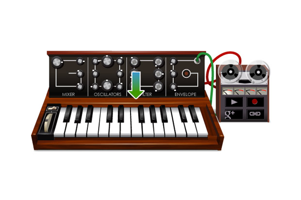 Image of Google Creates Playable Moog Synthesizer Logo as Tribute