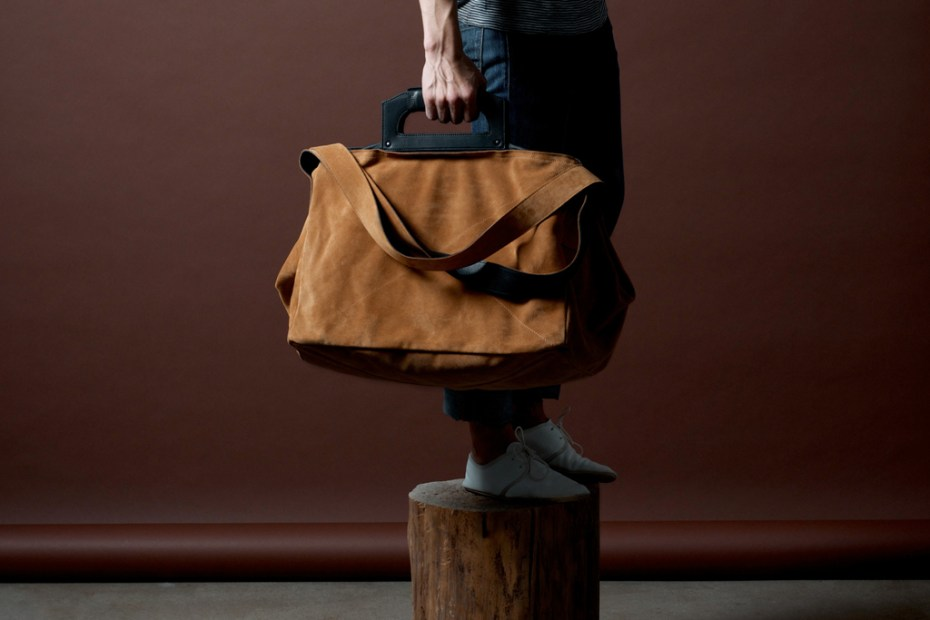 Image of hard graft Square1 Holdall / Campfire