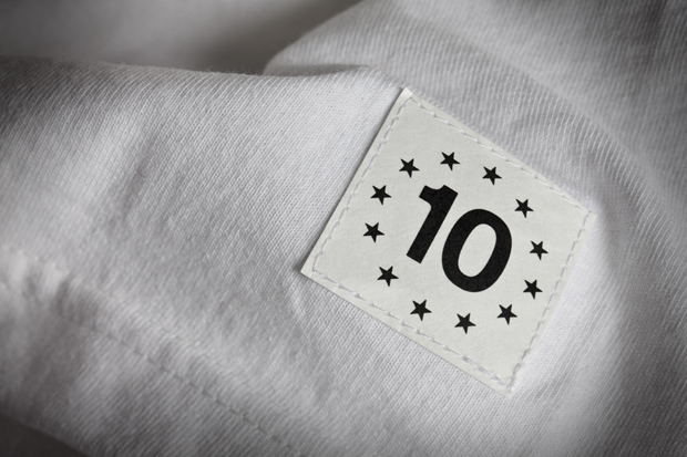Image of HUF 10th Anniversary Photo T-Shirt Featuring Mike O'Meally