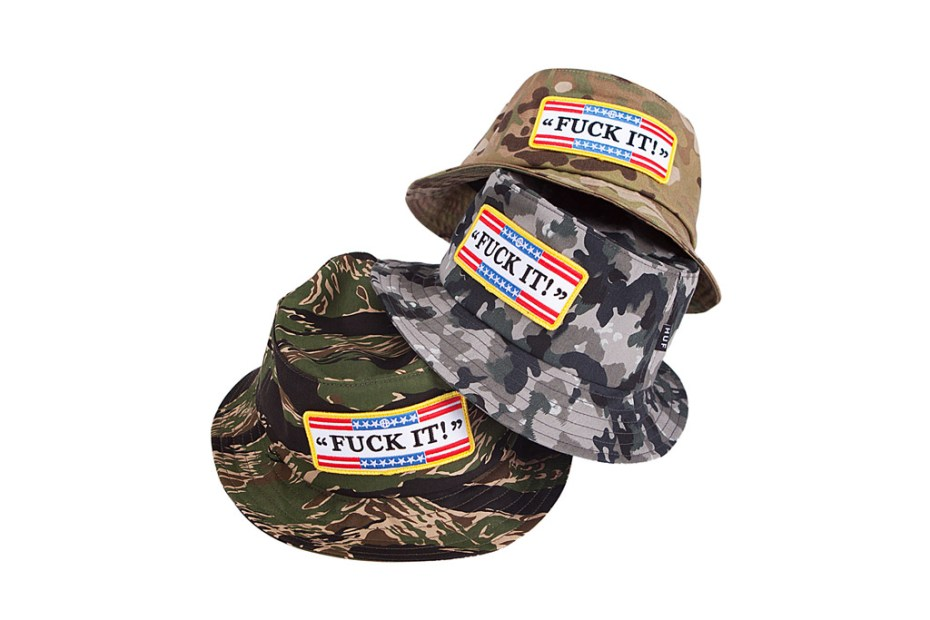 "Image of HUF 2012 Summer ""Fuck It"" Headwear"