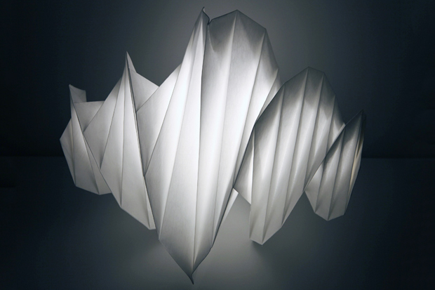 Image of in-ei Lampshades by Issey Miyake for Artemide