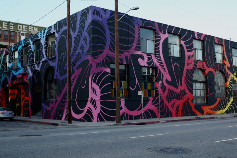 Image of INSA Mural for LA Freewalls