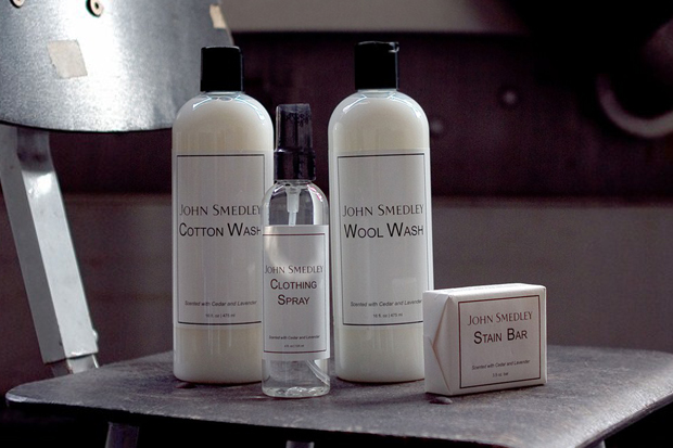 Image of John Smedley Care Products