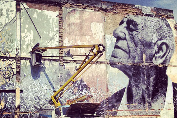"Image of JR x Jose Parla ""The Wrinkles Of The City"" Cuba Project"