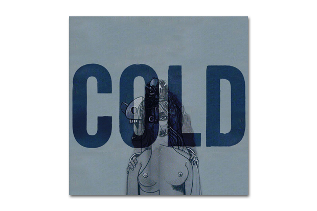 "Image of Kanye West ""Cold"" Artwork by George Condo"