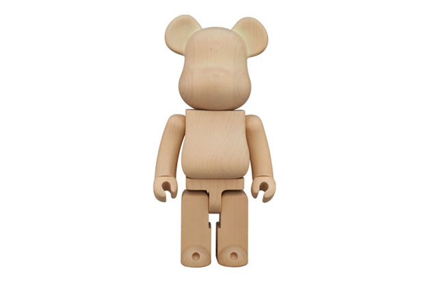 Image of Karimoku x Medicom Toy 400% Glow-in-the-Dark Bearbrick