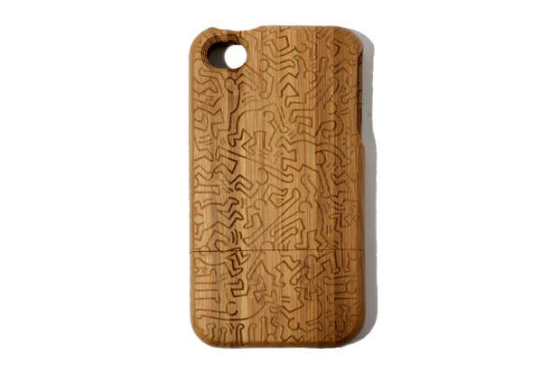 Image of Keith Haring x COLORS TOKYO Bamboo iPhone 4/4S Case