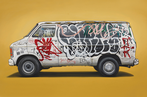 "Image of Kevin Cyr ""In Praise of Rust"" Exhibition @ Jonathan Levine Gallery"