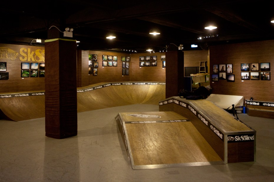 Image of Know1edge x L.I.F.E Exhibition @ Vans Sk85ive2 Indoor Skatepark Recap
