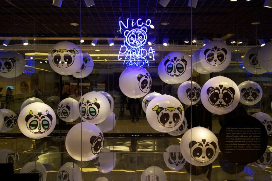 "Image of Lane Crawford x Nicola Formichetti ""Nicopanda Invasion"" Pop-Up Shop"