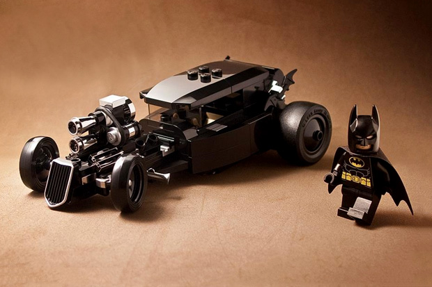 Image of LEGO Bat Rod by Michael Choy