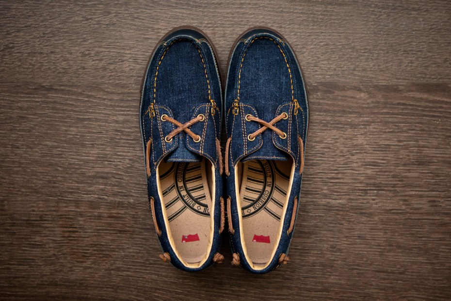 Image of Levi's Footwear 2012 Spring/Summer Cone Denim Vulcanized Deck Shoes
