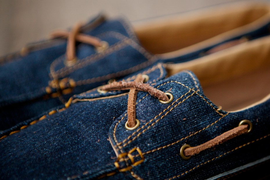 Image of Levis Footwear 2012 Spring/Summer Cone Denim Vulcanized Deck Shoes