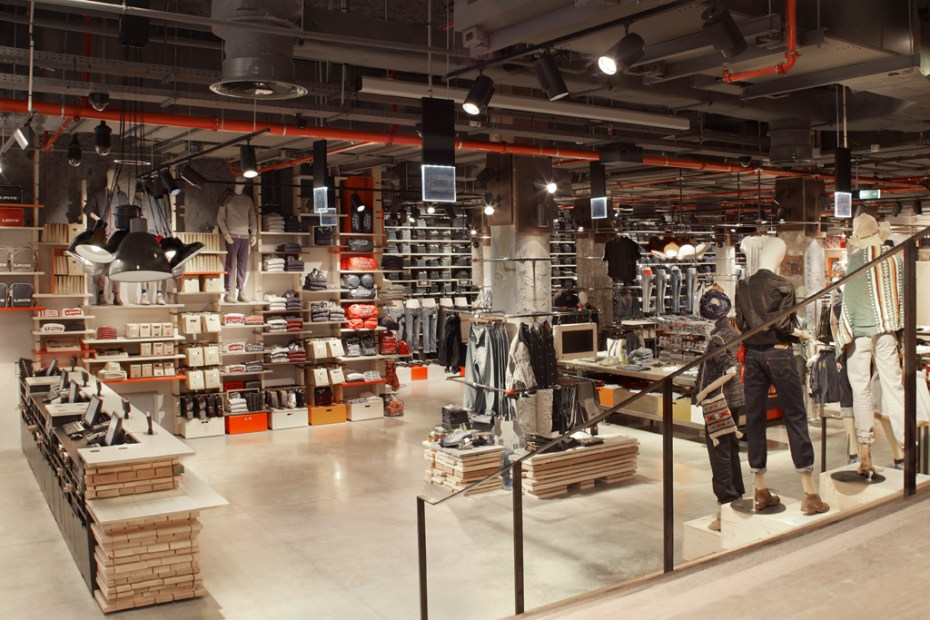 Image of Levi's Paris Flagship Store Opening