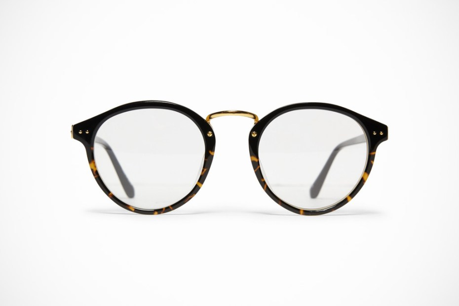 Image of Linda Farrow Luxe Round Frame Optical Glasses