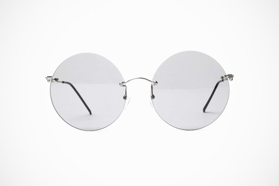 Image of Maison Martin Margiela 2012 Spring/Summer 8 Rimless Round Glasses