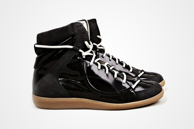 Image of Maison Martin Margiela 2012 Pre-Fall Mid Top Lace Sneaker